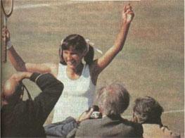 Есть чему радоваться. Ольга Морозова - в одиночном финале Уимблдона: Перед ней сложила оружие сама Билли Джин Кинг (США)