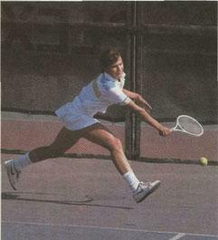 Для современного атлетического тенниса характерны удары в свободном быстром движении (Н.Медведева)