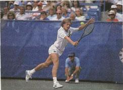 Одним из главных преемников знаменитого В. Борга стал его соотечественник С. Эдберг - победитель Уимблдона 1988 г.
