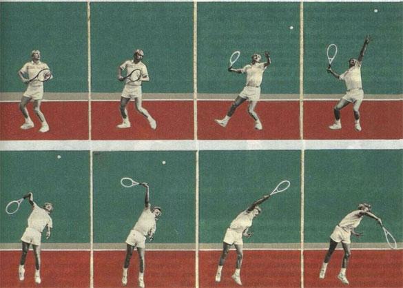 Удар над головой по отскочившему мячу (А.Высанд).