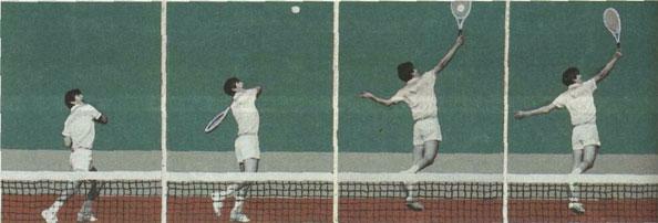 Удар над головой в высокой точке слева (В.Петрушенко).